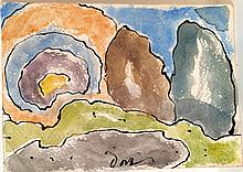 Arthur Dove signed/dated 1943