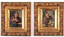 C. Stoitzner Pair of Antique Oils