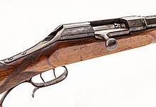 Lg. Cal. Bolt Action Single Shot Rifle, by Reeb