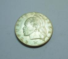 1962 LIBERIA SILVER DOLLAR
