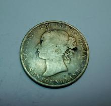 1900 NEWFOUNDLAND 50 CENT