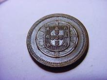 1921 PORTUGAL 5 CENTAVOS UNC