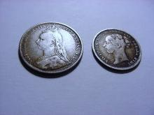 BRITISH SILVER COIN LOT