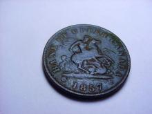 1857 CANADA BANK TOKEN