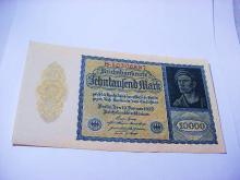 1922 GERMANY 10,000 MARK BANKNOTE
