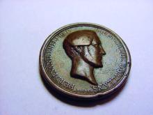1843 DUC D'ORLEANS MEDAL