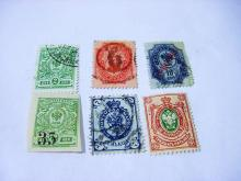 EARLY RUSSIAN STAMP LOT