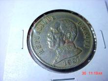 1907 HAITI 50G.