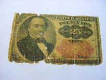 1873 FRACTIONAL CURRENCY