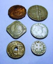 EARLY COIN LOT