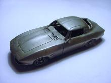 1963 PEWTER CORVETTE CAR