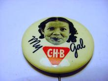 1940 CHB GIRL BUTTON