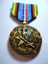 ARMED FORCES EXPEDITIONARY SERVICE MEDAL
