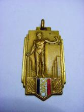 ART DECO SPORTS MEDAL