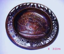 1964 NEW YORK WORLDS FAIR DISH