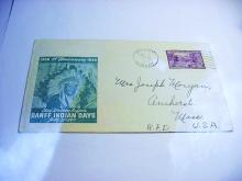 1949 BANFF INDIAN DAYS COVER