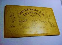 ANTIQUE ADVERTISING CARD