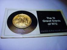 1972 GREAT EVENTS MEDAL