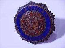ANTIQUE AMERICAN LEGION CAR INSIGNIA