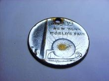 1939 NEW YORK WORLDS FAIR MEDAL