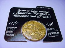 1976 CONNECTICUT BRONZE MEDAL