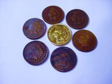 INDIAN CENT LOT