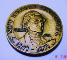 1971 NEW BRITAIN BRONZE MEDAL