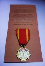 KENTUCKY COLONELS MEDAL OF DISTINCTION