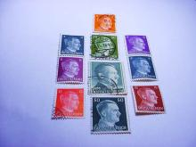 NAZI GERMAN STAMP LOT