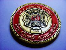 2010 NEW LONDON FIRE CHIEFS MEDAL