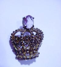 VINTAGE CROWN PIN