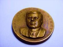 1961 KENNEDY INAUGURATION BRONZE MEDAL