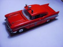 CORGI FIRE CHIEF TOY CAR