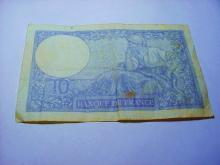1939 FRANCE 10 FRANCS BANKNOTE