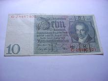 1929 GERMANY 10 MARK BANKNOTE