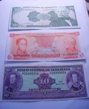 VENEZUELA BANKNOTE LOT