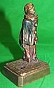 Polychrome Vienna Bronze Figure H: 3