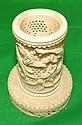 Ivory Philigran Pencil Holder H: 4