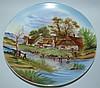 Porcelain Plate Victoria Austria, Landscape