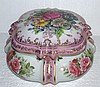 Meissen Jewelry Box , Flowers Adornment