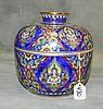 Thai porcelain covered jar. H:8