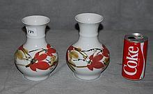 Pr Chinese porcelain vases