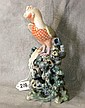 Exquisite Chinese export porcelain bird