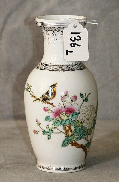 Chinese republic period porcelain vase.