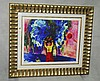 Marc Chagall lithograph number 35/300 gallery framed.