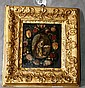 18th/19th C Giltwood framed icon