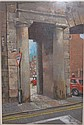 LAWRENCE, PASTEL DRAWING- 'THE NORTHGATE CHESTER',