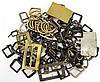 LARGE LOT OV VINTAGE BELT BUCKLES