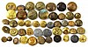 ANTIQUE MILITARY BUTTON COLLECTION