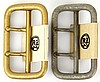 WWII GERMAN RZM ZWEIDORNSCHNALLE BUCKLE LOT OF 2